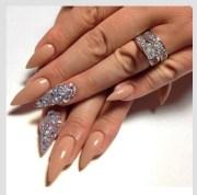 stylish stilettos nail art design