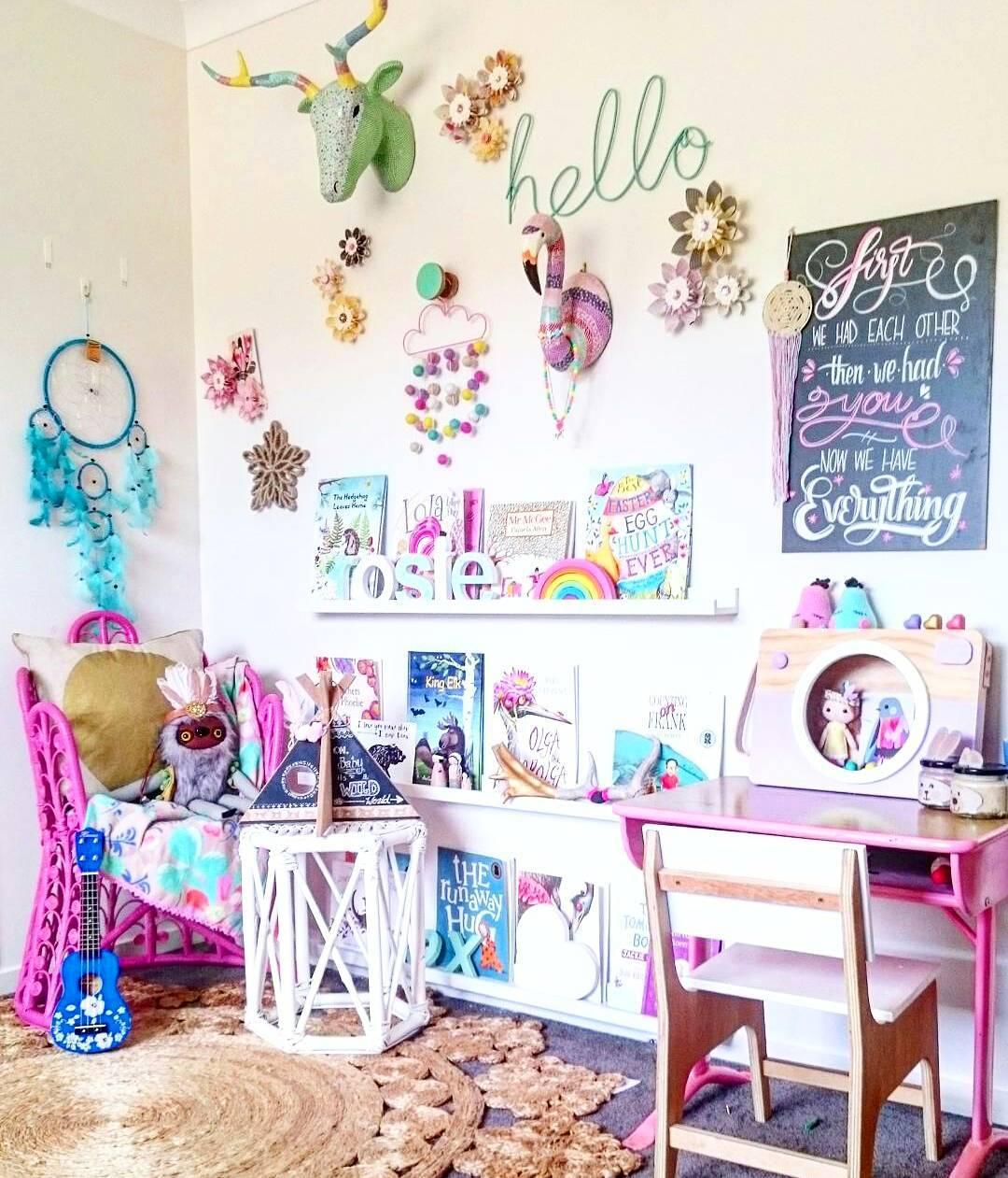 40 Elegant And Bohemian Kids Room Decor Ideas For Kids Who