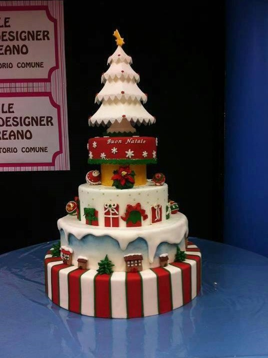 50 Out Of The Box And Different Christmas Cake Ideas For
