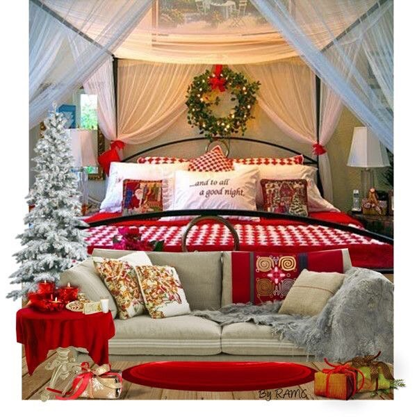 40 Cute And Creative Christmas Bedroom Decor To Try