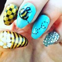 55 Easy Summer Nail Art You Can Try At Your Home
