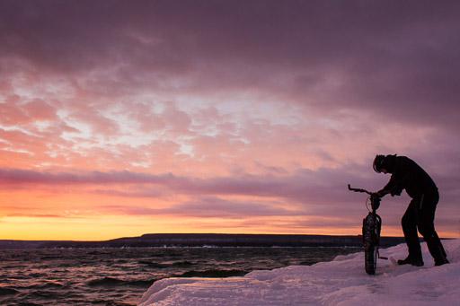 Fat Bike Winter Mountain Biking