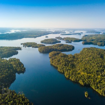 Aerial Photos of Temagami Ontario Canada