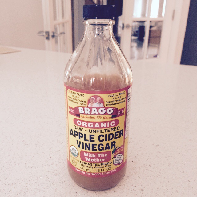 Why I take Bragg's Apple Cider Vinegar with 'The Mother