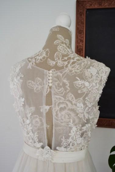 A line Carmie weddin dress