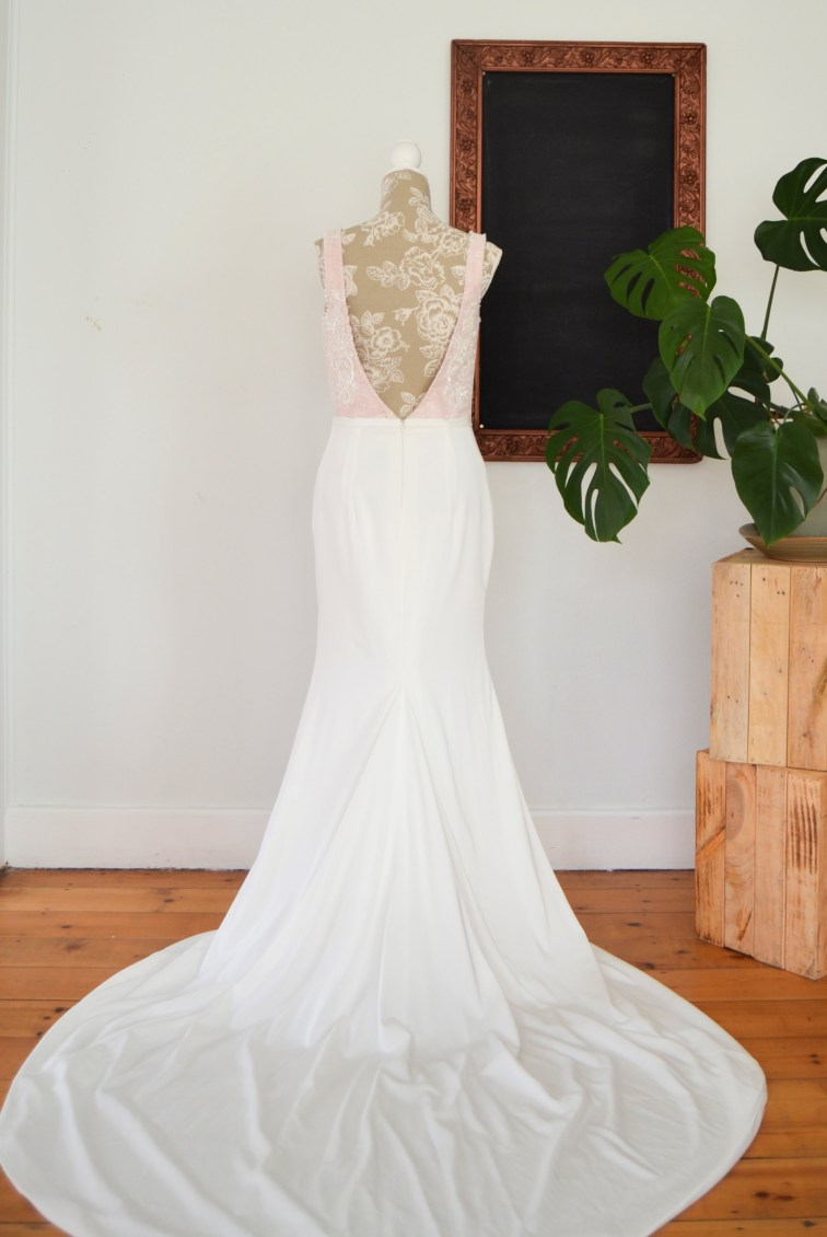 A line Charissa wedding dress