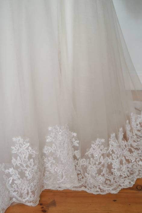 A line Kayla wedding dress
