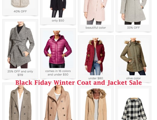 Black Friday Sales Anna Monteiro of Blushing Rose Style selecting best sales in coats and winter jackets including Macy's, Nordstrom, Amazon