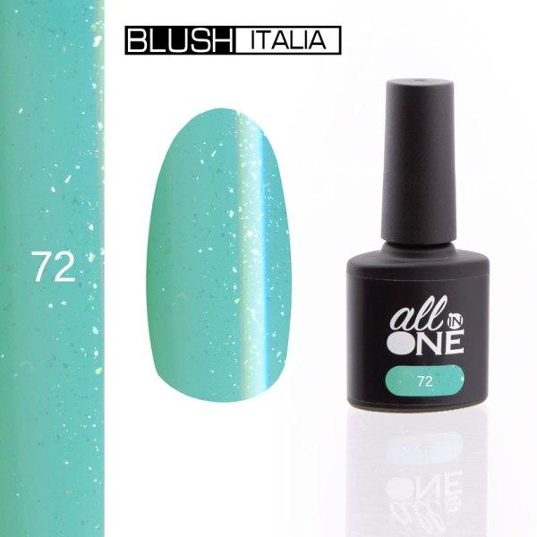 smalto semitrasparente all in one72 blush italia