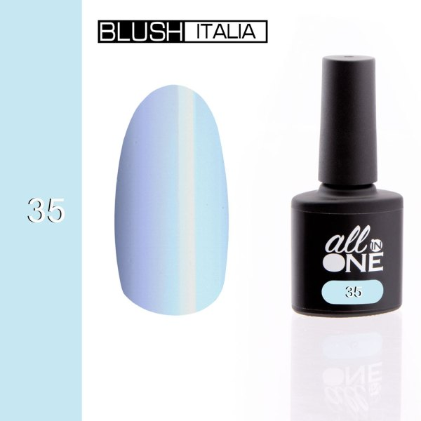 smalto semitrasparente all in one35 blush italia