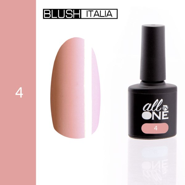 smalto semitrasparente all in one4 blush italia