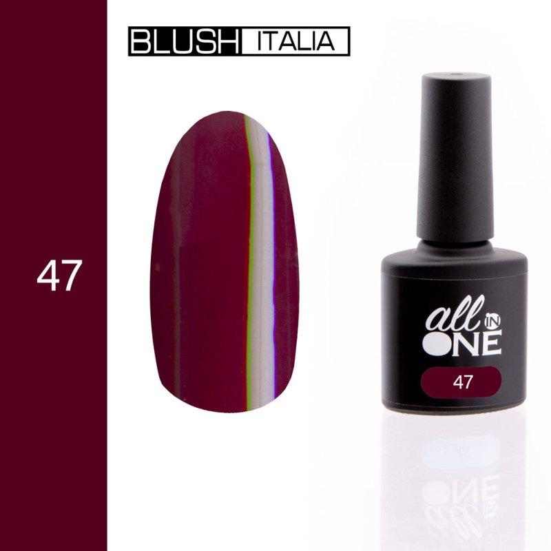 smalto semitrasparente all in one47 blush italia