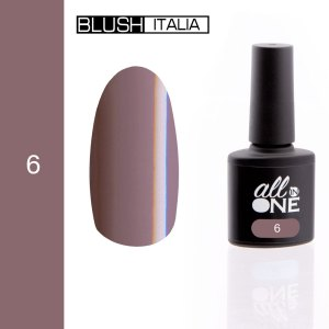 smalto semitrasparente all in one6 blush italia