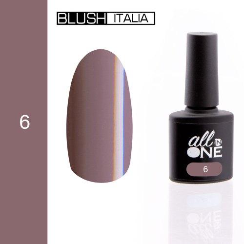smalto semitrasparente all in one6 blush italia