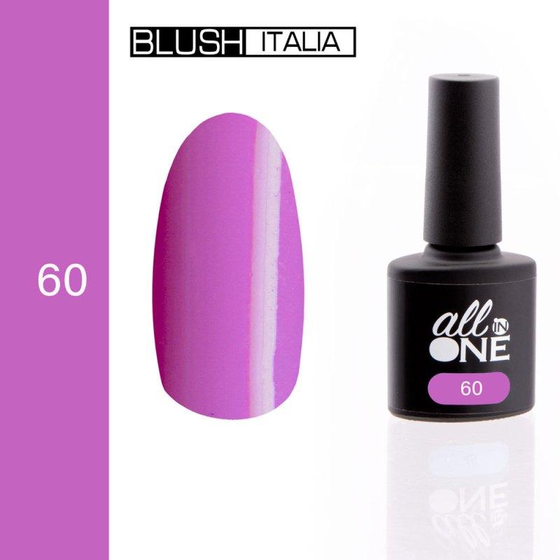 smalto semitrasparente all in one60 blush italia