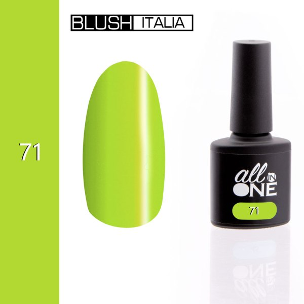 smalto semitrasparente all in one71 blush italia