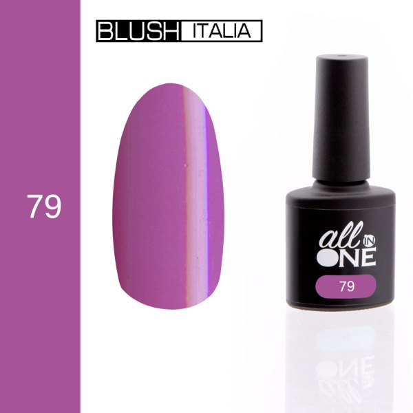 smalto semitrasparente all in one79 blush italia