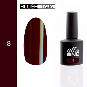 smalto semitrasparente all in one8 blush italia