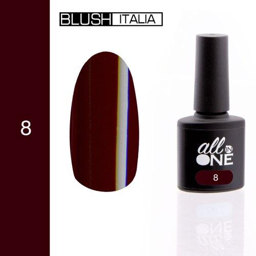 smalto semitrasparente all in one8 blush italia