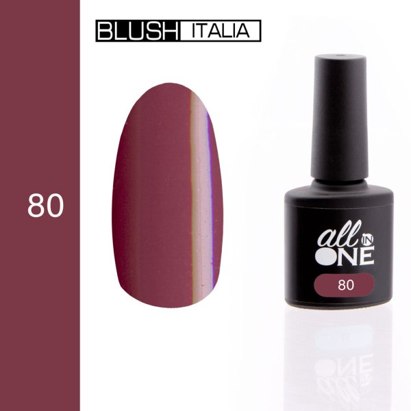 smalto semitrasparente all in one80 blush italia