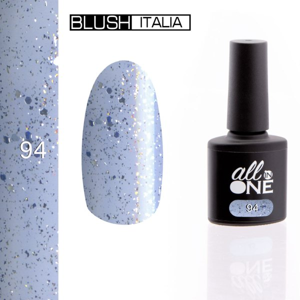 smalto semitrasparente all in one94 blush italia