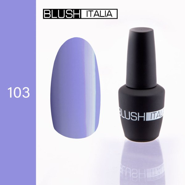 gel polish 103 blush italia