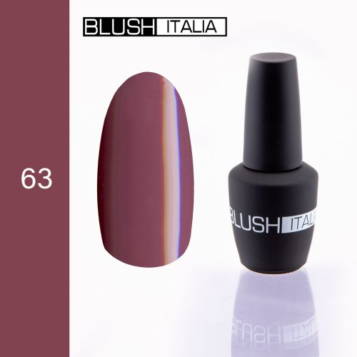 gel polish 63 blush italia