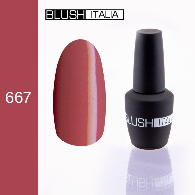 gel polish 667 blush italia