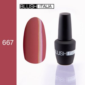 gel polish 667 blush italia