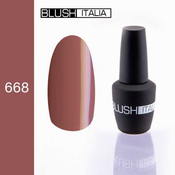 gel polish 668 blush italia