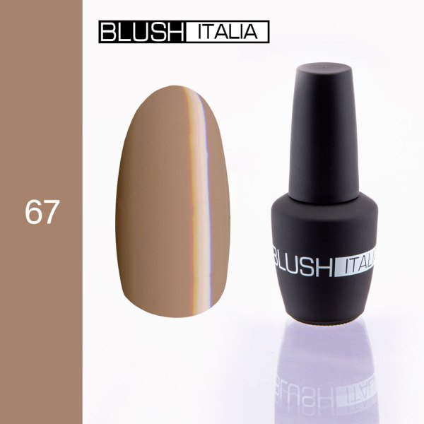 gel polish 67 blush italia