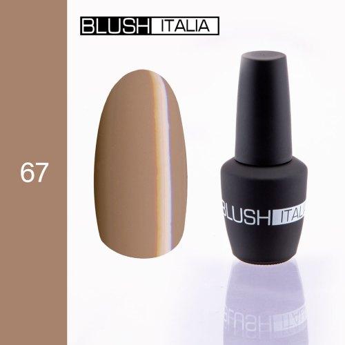 gel polish 67 blush italia