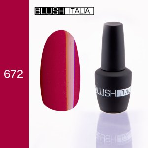 gel polish 672 blush italia