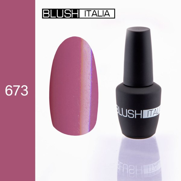 gel polish 673 blush italia