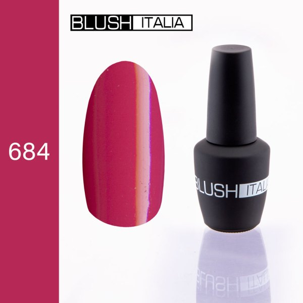 gel polish 684 blush italia