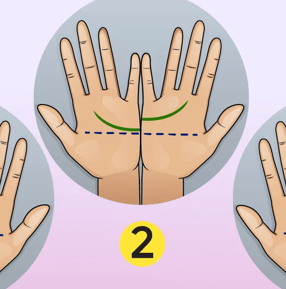 Check these two lines on your palm! 12