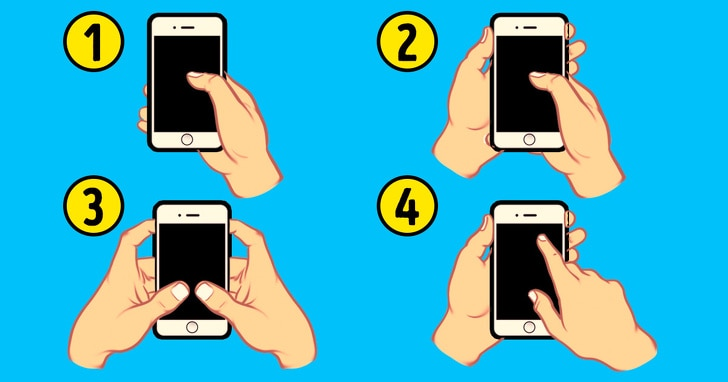 4 Best Facts Regarding Personality That Can Be Revealed By The Way Of Holding The Smart Phone 1