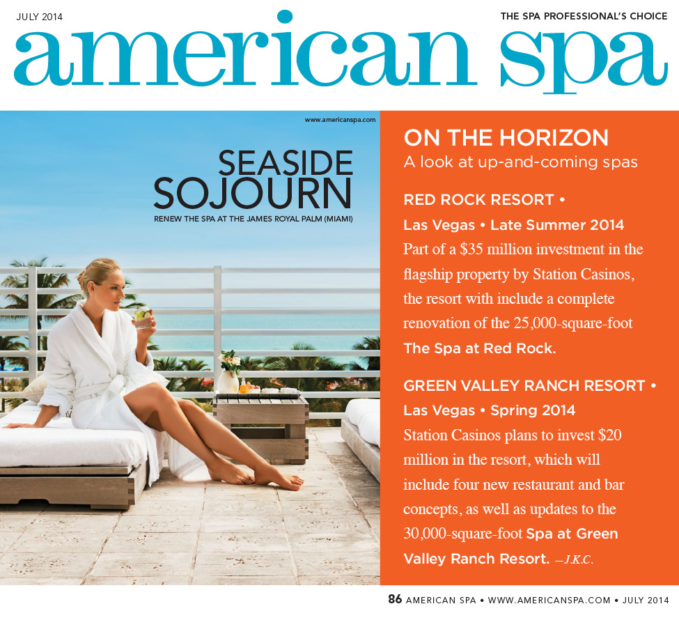 American Spa Magazine Cover