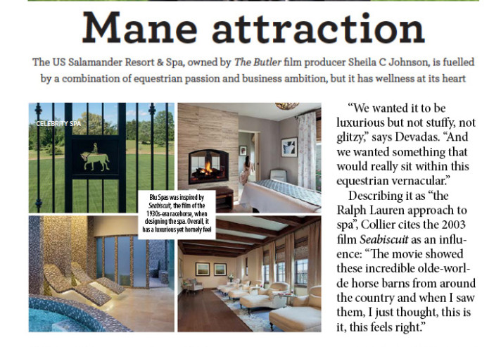 Spa Business Magazine - Salamander Resort & Spa