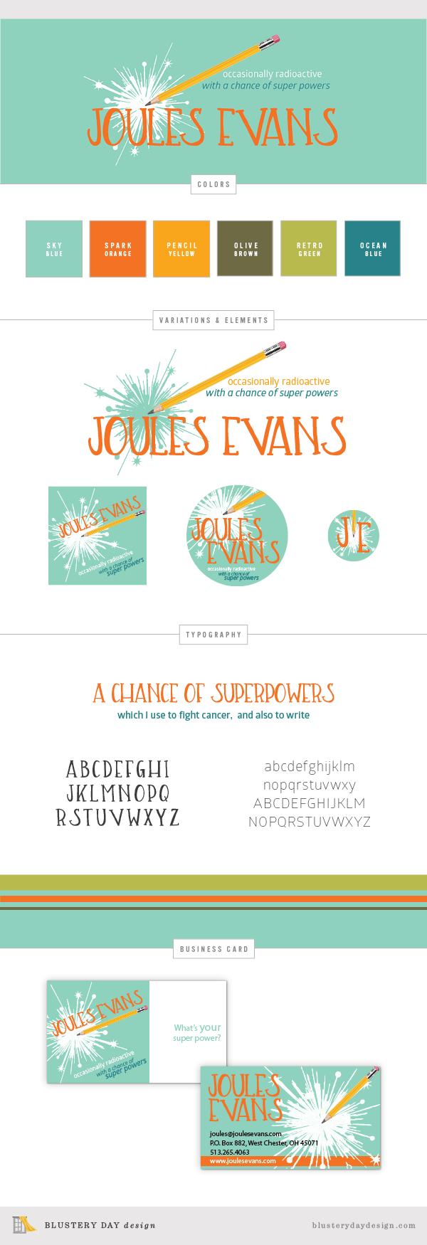 Joules Evans Brand Board