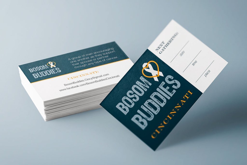 These cards can be filled out with the next gathering time to encourage new members to attend.