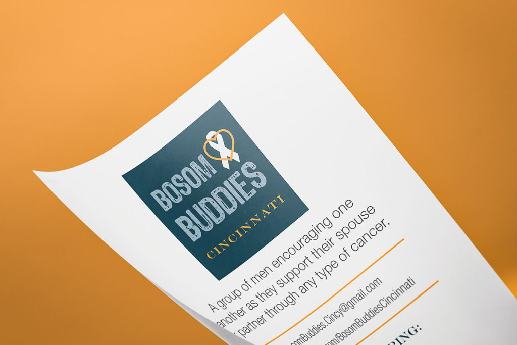 Half-sheet paper handouts can be printed as needed.