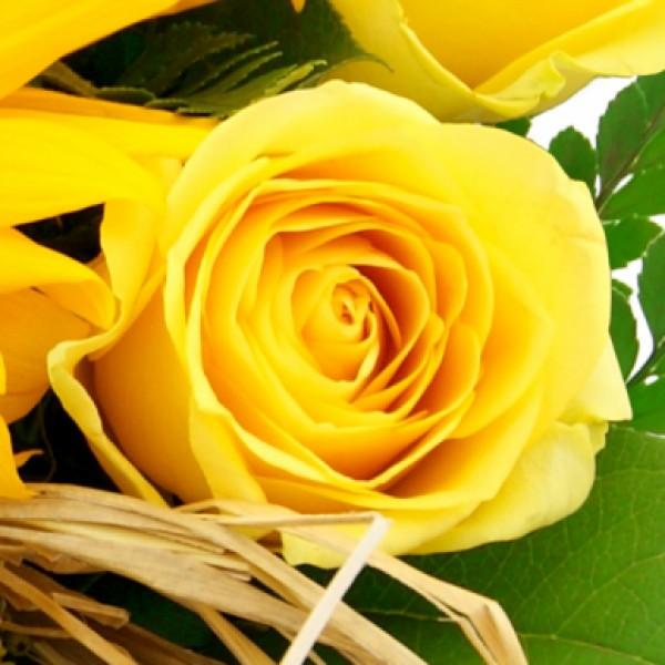 Blumenstrau Sommerfreude  Blumenstrue Blumenversand  Bluvesade  Blumen online verschicken