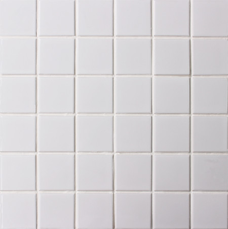 Clsico mate blanco BCK201 Azulejo mosaico Azulejo