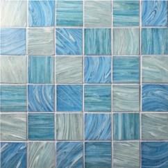 Mosaic Backsplash Kitchen Island With Stove Top 彩虹广场bgk003 游泳池瓷砖 池马赛克 玻璃马赛克 玻璃马赛克瓷砖后挡板 蓝瓦 玻璃马赛克瓷砖