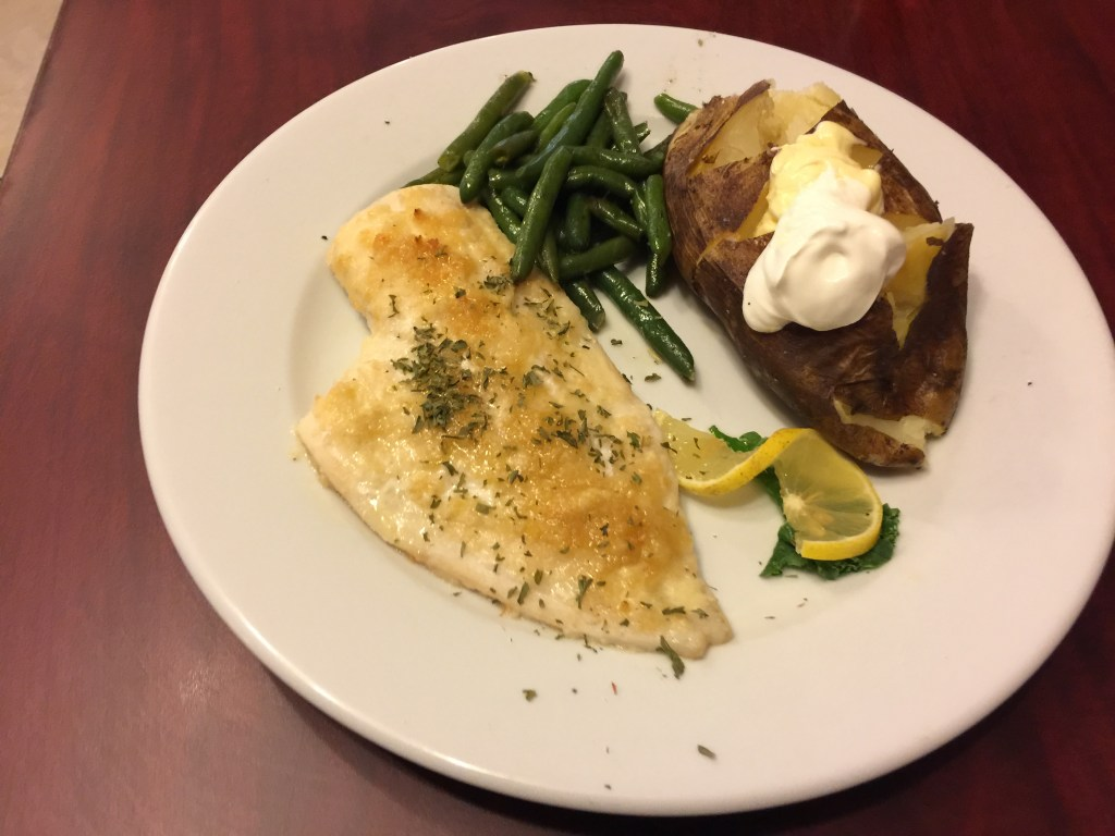 Baked Haddock with Breadcrumb topping
