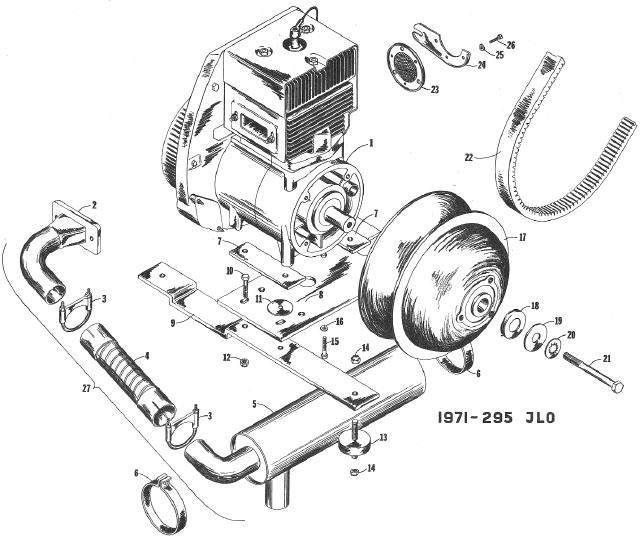 70 Puma EXT engine mounting diagram