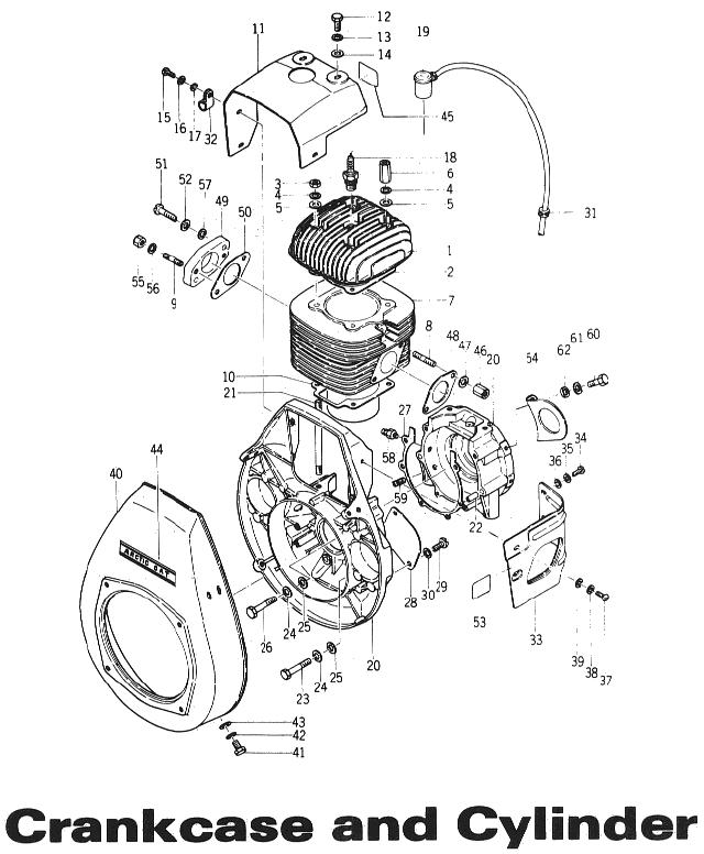 Kawasaki 292 parts