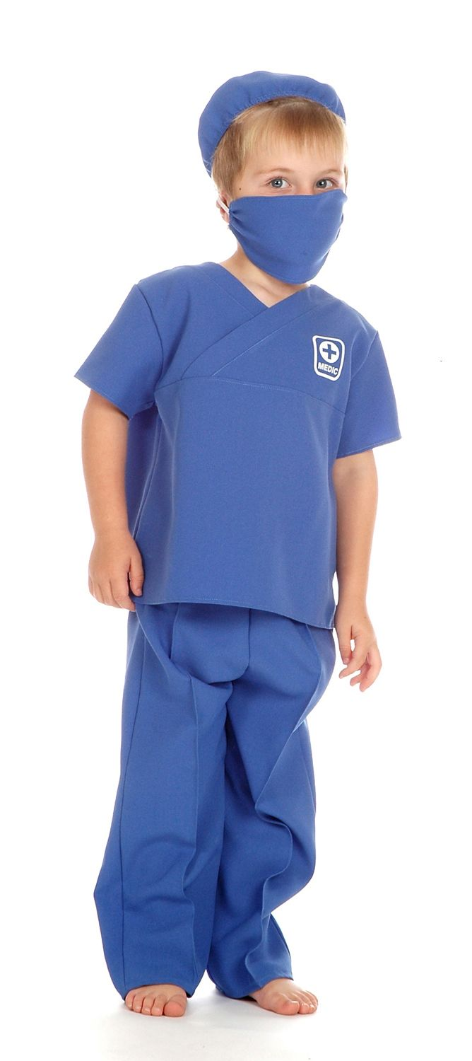 children s pop up chairs folding chair dimensions children's boys and girls male nurse doctor surgeon fancy dress costume
