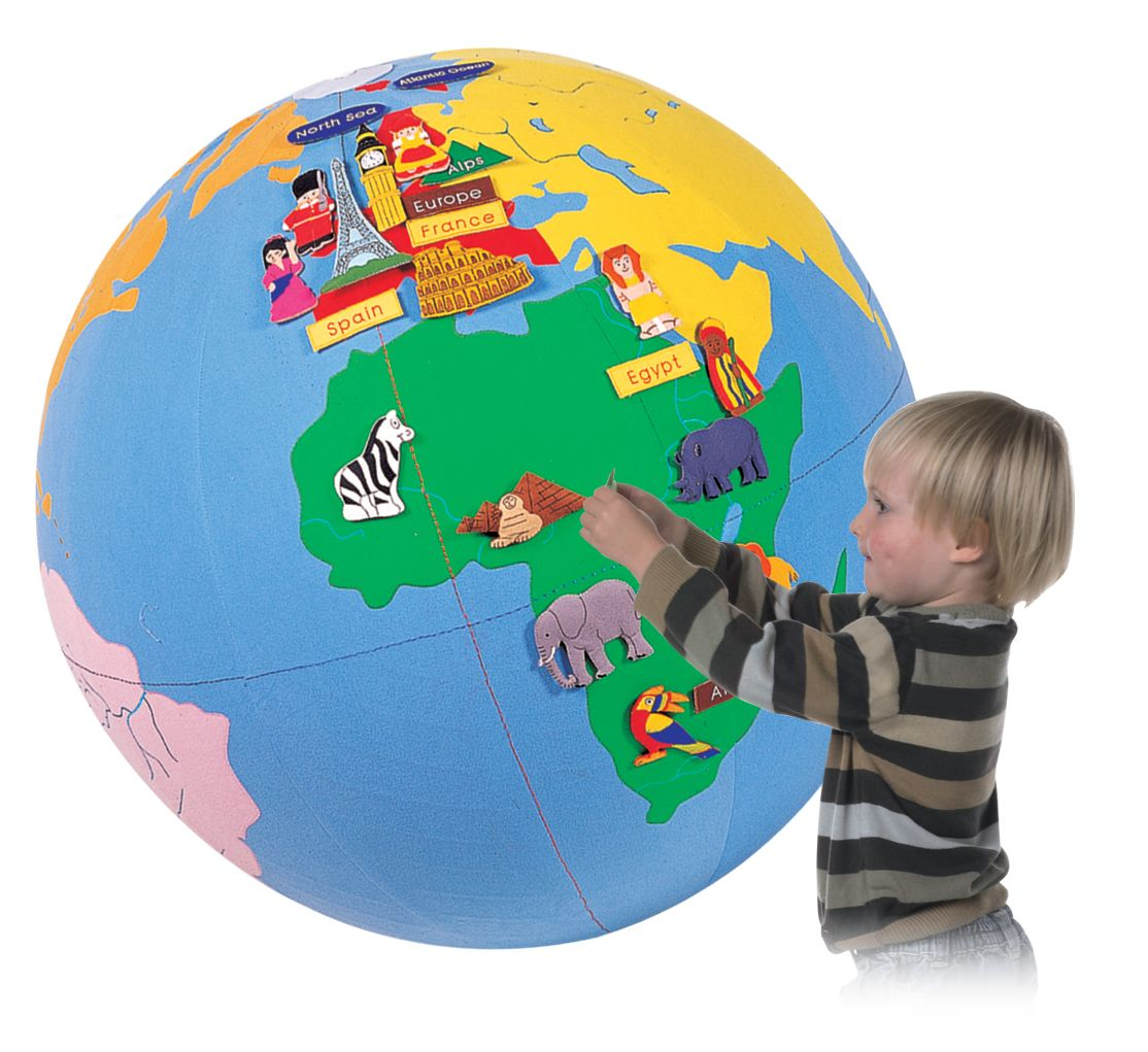 Children s Inflatable Interactive Giant World Globe with